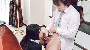 Nanami Hirose Asian blow job with sex to follow