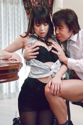 広瀬奈々美, - 社長秘書のお仕事紹介~お掃除フェラ編~ - Picture 10