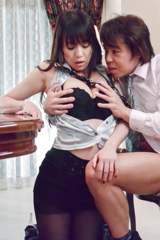 広瀬奈々美, - 社長秘書のお仕事紹介~お掃除フェラ編~ - Picture 11