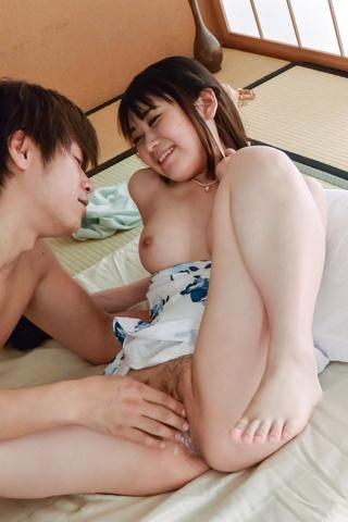 Ruka Mihoshi - Ruka Mihoshi 享有日本饼在凸轮 - 图片 11