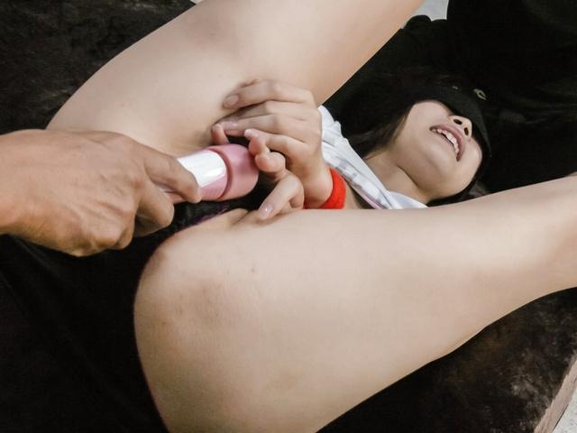 Momoka Rin - Momoka 凛给亚洲口交和乱搞两个帅哥 - 图片 8