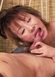 Miki Asian whore has wet poonanie fucked in many rough positions