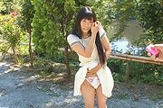 Yui Kasugano - Yui Kasugano Japanese street sexy posing - Picture 12