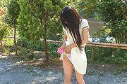 Yui Kasugano - Yui Kasugano 日本街头性感姿势 - 图片 8