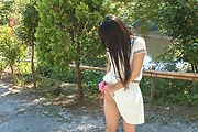 Yui Kasugano - Yui Kasugano 日本街头性感姿势 - 图片 9