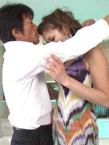 Mai Kuroki - Asian blowjobby needy for cockMai Kuroki - Screenshot 2