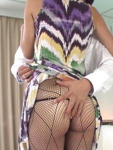 Mai Kuroki - Asian blowjobby needy for cockMai Kuroki - Screenshot 3