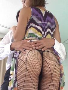 Mai Kuroki - Asian blowjobby needy for cockMai Kuroki - Screenshot 4