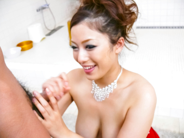 Meisa Hanai - Meisa Hanai has big strong too in mouth - Picture 4