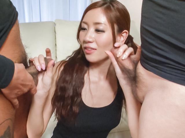 Kaori Maeda - Asian blow job with sweet Japanese Kaori Maeda - Picture 3