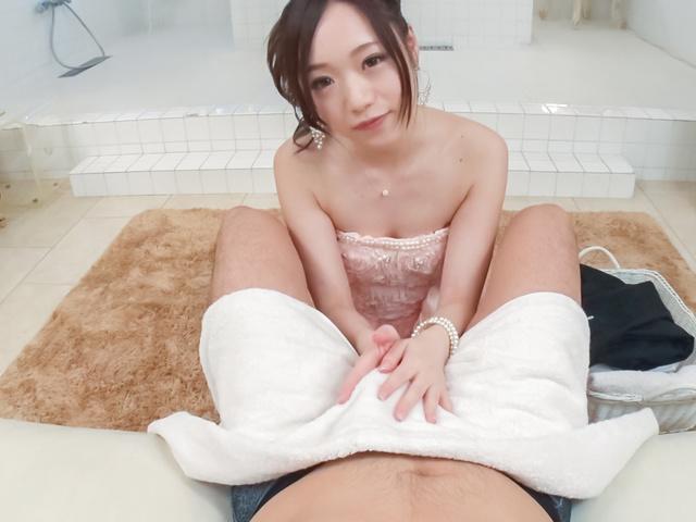 瀬奈まお - 美少女瀬奈まお~カメラ目線フェラ - Picture 8