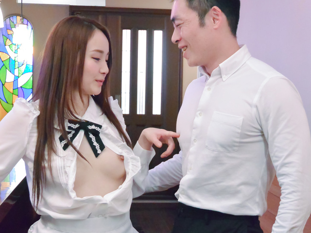 Misuzu Tachibana - Sexy ASian amateur video with a young schoolgirl - Picture 1