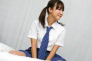 Momoka Rin - Horny teen Momoka Rin gives a japan blowjob - Picture 6
