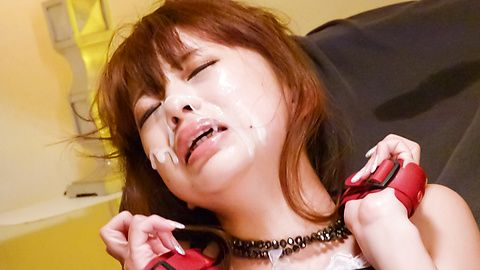 Hazuki Okita has dildo fucking her cunt