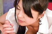 Eririka Katagiri - Eririka Katagiri gives an amazing asian blowjob in POV - Picture 12
