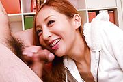 Erena Aihara - Erena Aihara gives an asian blow job to many guys - Picture 12