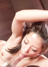 Satomi Suzuki Asian gets finger in asshole while getting fucked