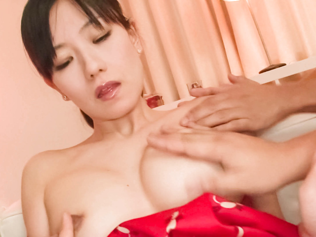 Manami Komukai − Manami Komukai has face in sperm rain − Picture 11