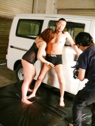 Neiro Suzuka - 内罗铃鹿 ' s 亚洲口交赚她硬撞 - 图片 12