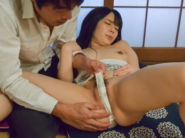 Ruka Kanae - Young Ruka Kanae gets nasty on a tasty dick  - Picture 9