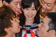 Yui Kasugano - Creampie Asian scenes along skinnyYui Kasugano - Picture 5