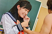Yui Kasugano - Creampie Asian scenes along skinnyYui Kasugano - Picture 9