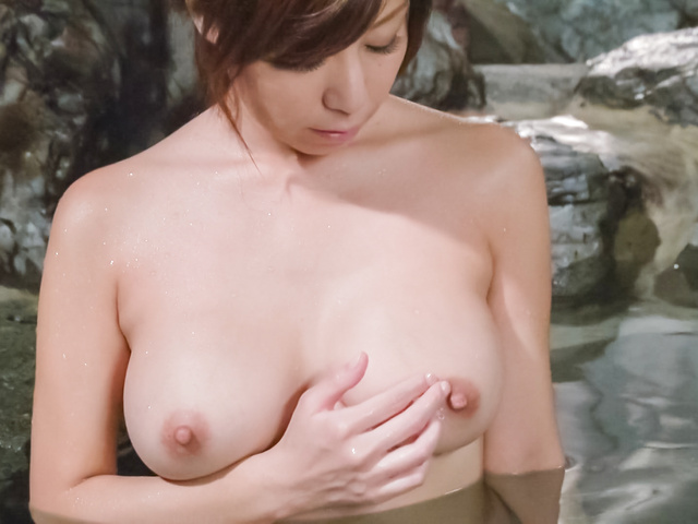 Chihiro Akino - Asian amatuer porn solo with a big tits beauty  - Picture 10