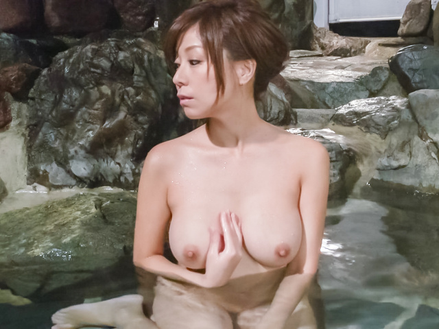 Chihiro Akino - Asian amatuer porn solo with a big tits beauty  - Picture 7