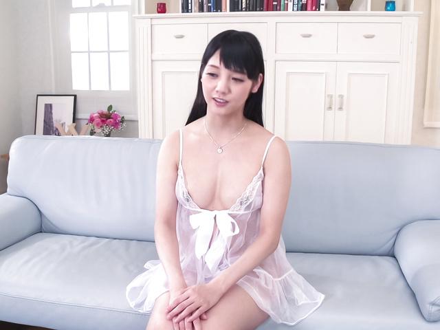Rei Mizuna - Excellent Japanese blowjobs by naughty  Rei Mizuna - Picture 1