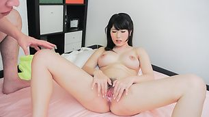 Hot young Asian girls enjoying dick in hardcore