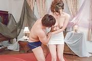 Yura Kurokawa - Yura Kurokawa gets slammed hard after an asian blowjob - Picture 9