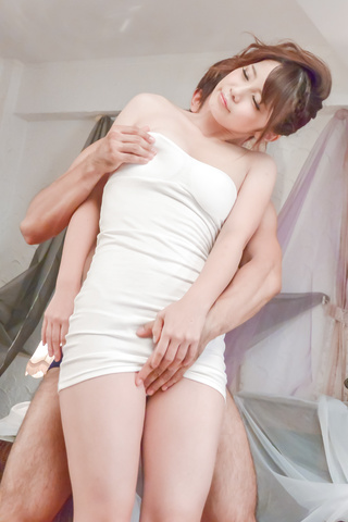 Sex Yura Kurokawa gets slammed hard after an asian blowjob