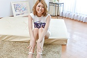 Kanako Kimura - Kanako Kimura gives asian blowjobs before she goes for a ride - Picture 1