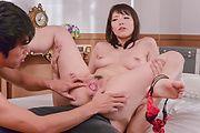 Nao Mizuki - 空手女教師フェラ&中出し 水城奈緒 - Picture 6
