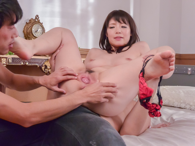 Nao Mizuki - Nao Mizuki smashed by two horny lads in threesome  - Picture 7