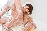 Risa Mizuki - Asian girl blowjob in superb Japanese POV  - Picture 4