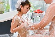 Risa Mizuki - Asian girl blowjob in superb Japanese POV  - Picture 9