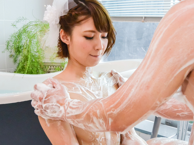 Risa Mizuki - Asian girl blowjob in superb Japanese POV  - Picture 10