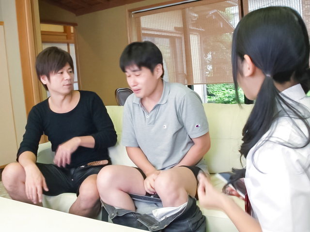 Suzu Ichinose - Japan cum ends babe's filthy Japanese oral show - Picture 11