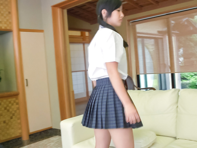 Suzu Ichinose - Japan cum ends babe's filthy Japanese oral show - Picture 12