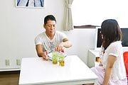 Sanae Akino - Special Japan blowjob by naughty Sanae Akino - Picture 1