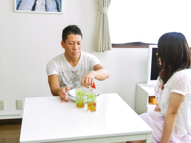 Sanae Akino - Special Japan blowjob by naughty Sanae Akino - Picture 1