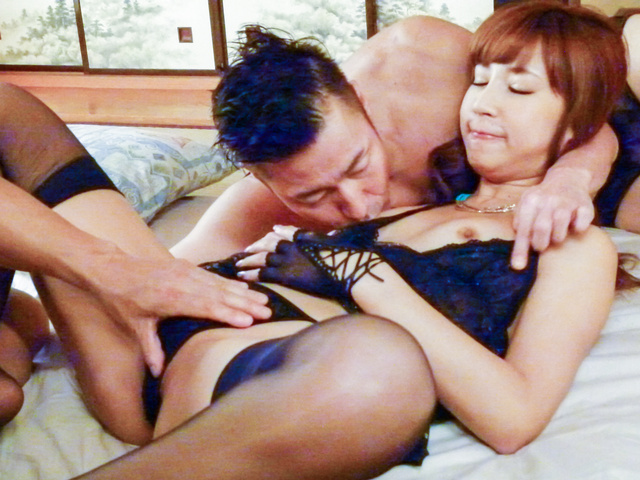 Anna Anjo - Rough aisan blowjob withinsolent Anna Anjo - Picture 6