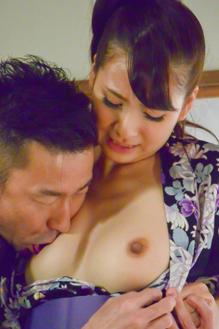 Yui Oba - Asian blow job with steamy model, YuiOba - Picture 6
