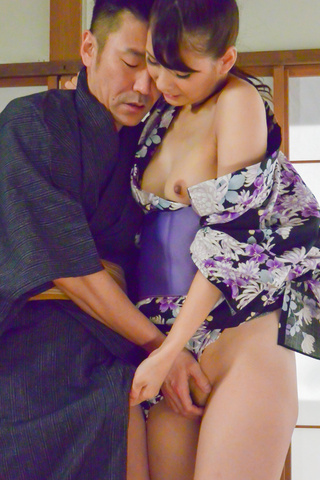 Yui Oba - Asian blow job with steamy model, YuiOba - Picture 8