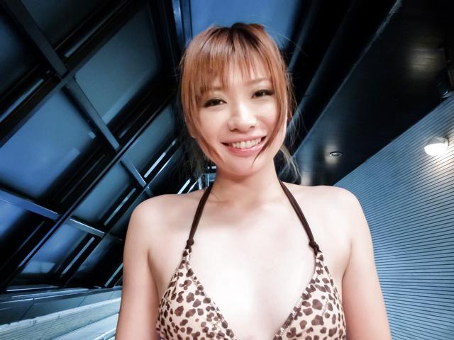 Mami Yuuki - Asian dildo play for sleazy chick Mami Yuuki - Picture 3