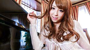 Asian amateurHikaru Shiina loves masturbating