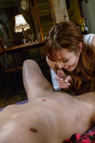 Sex Saori gives warm Asian blowjob before fucking