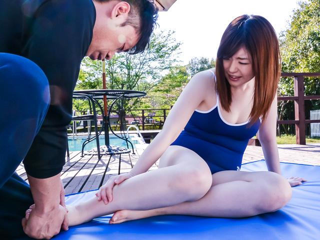 Kaho - 嘉穗享有大亚洲假阳具下来她的阴道 - 图片 9