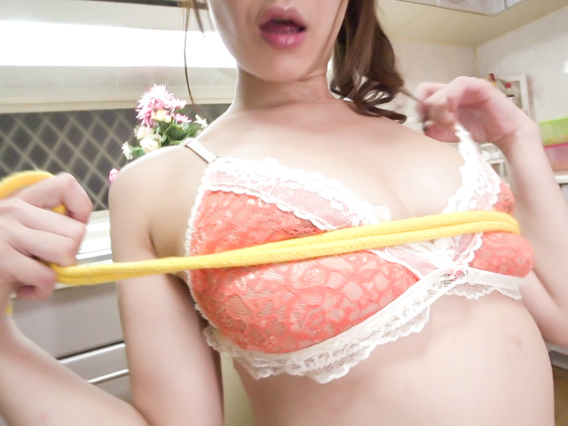 Nanami Hirose - Busty doll amazes with a perfect Japan blowjob  - Picture 1